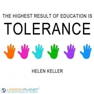 toleranceposter