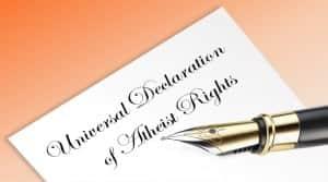 Universal Declaration of Atheist Rights