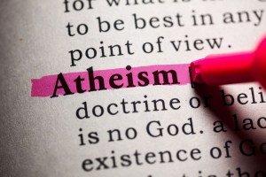 atheism dictionary